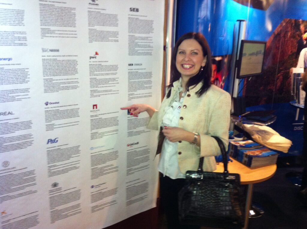 Redgate at ''Days of opportunities''
